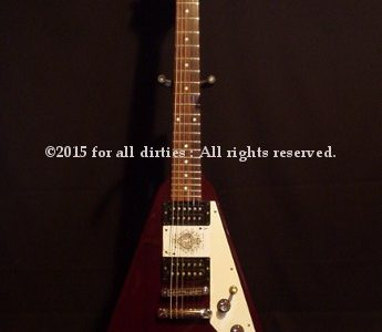 Duke's Gibson FlyingV 1998 limited edition