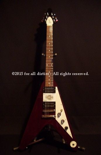 Duke's Gibson Flying V 1998 limited edition