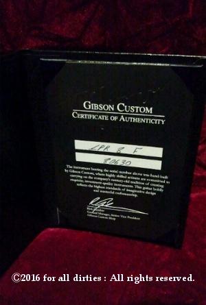 Duke's Gibson Custom Shop Les Paul Standard 1958 Reissue